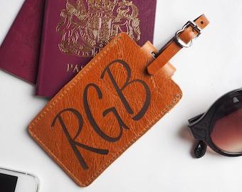 Personalised leather luggage tag, personalised luggage tag, personalized luggage tag, luggage tag personalized, luggage label, luggage tag