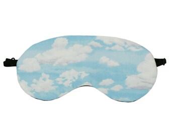 Clouds Sleep Mask, Clouds Soft Silk Eye Mask