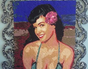 Bettie Page Tapestry