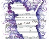 CUSTOM LISTING JACOB - Purple Rain -  a Tribute to Prince 8x10 print of Kit Sunderland watercolor painting