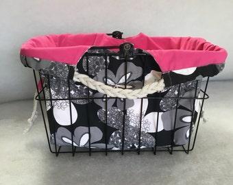 Bicycle Basket Liner / Shoulder Bag for Sunlight Basket