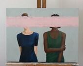 Introverts Original Acrylic Painting