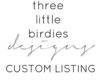 Custom Design for Maggie!