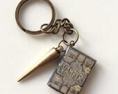 Handmade Mini Book Keychain Collection