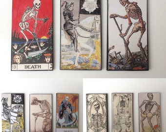 Death Card Tarot Card Magnet Collection
