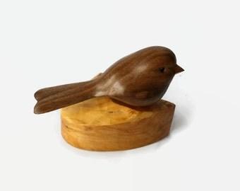 Chickadee Bird Art, Gift for Bird Lover, Mom, Dad, Teacher, Grandparents, Made in Canada