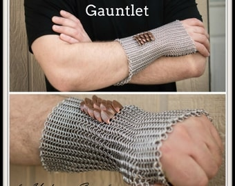 PDF Leather and Chainmaille Gauntlet Tutorial