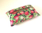 Red strawberries tissue holder. Free shipping