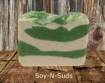 BAY RUM Cold Process Soap with Mango Butter