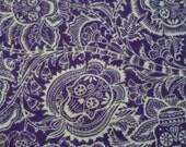For Carlotta Valdes Day of the Dead purple blanket