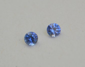 Sapphire Rounds, Blue Sapphire, Sapphire Pair, Sapphire Namibia,  Sapphire Rounds, 3.5 mm Sapphire