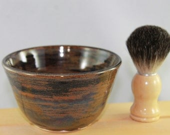 Shave Bowl -- Agate Toned 1