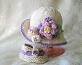Baby Easter Bonnet Baby Hats Knitting Knit Baby Hat Knitted Baby Hats Baby Girl Clothing Cotton Knitted Brimmed Baby Hat Newborn Baby Hat