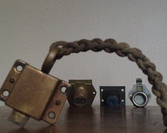 Collection of Latches and Locks. Steampunk, Industrial Supplies.