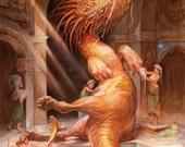 Dragon Hamam (print)