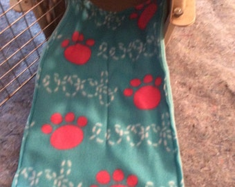 Dog Fleece Crate Mat Woof
