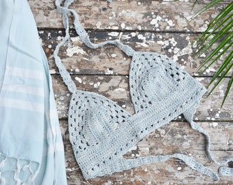 crochet bikini top pattern ENGLISH and DUTCH VERSION