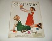 Womans Home Companion Magazine December 1948, Vintage Ads, Paper Ephemera, Retro, Collectible