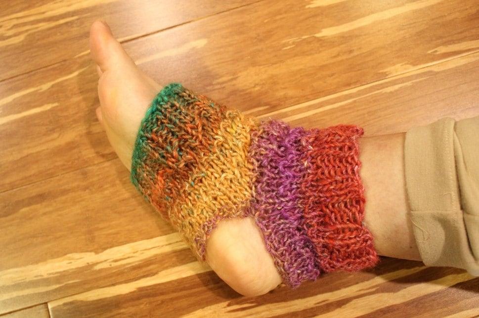 Knit Yoga Socks Pattern Sock Knitting Easy Pattern for