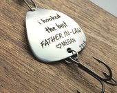 Father in Law Gift I Hooked the Best Father in-law Fishing Lure Gift Wedding Fishing Lure Father in-law Gift Mens Gift Grandpa Parent to Be