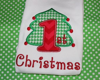 First Christmas for baby- for boy or girl- you pick fabric