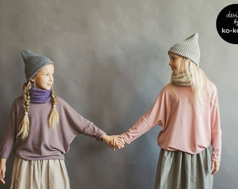 Oversize Long Sleeve for Girls (available in 9 colours)