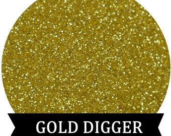 GOLD DIGGER Gold Cosmetic Glitter