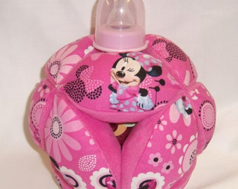 Minnie Mouse Baby Bottle Holder Ball