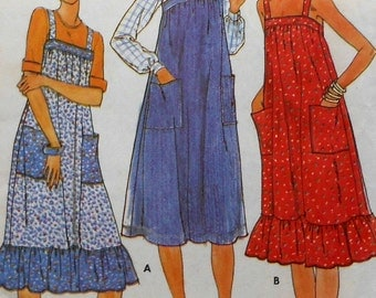 Sundress Sewing Pattern Butterick 5869 Size 12