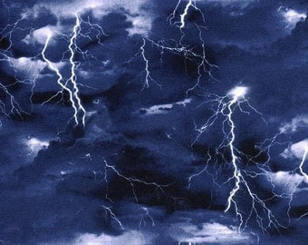 Gorgeous Lightning Quilting Fabric