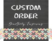 Custom Order for SuzannHayes
