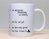Now You May Speak Mug, Alcohol Coffee Mug, Funny Mug, 2 sided mug