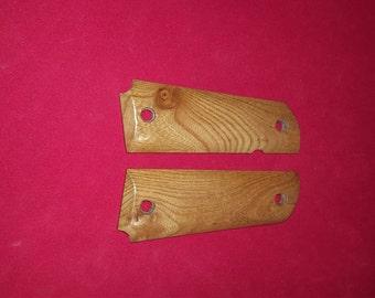 1911 Grips water chestnut wood