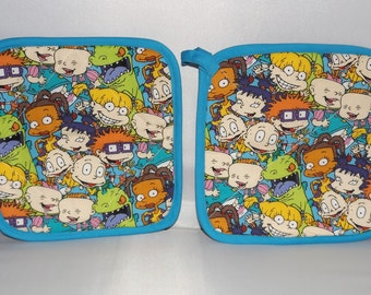 Rugrats  Pot Holders -Set of 2  Nickelodeon