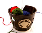 Knitorious A Yarn Bowl for Chicks with Sticks - Made to Order