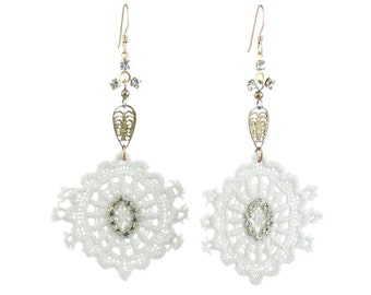 French Lace Earring   E3222