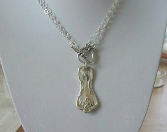 Vintage Silver Spoon Necklace