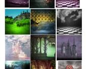 17 Fantasy 1-Digital Immediate Download-ClipArt-Art Clip-Background