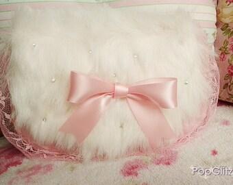 Girly Hime Gyaru Romantic Princess Sweet Lolita Loli Cute Kawaii Small Clutch