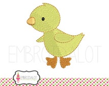 Chicken machine embroidery design. Cute little chicken fun farm embroidery embroidery. Perfect for spring embroidery projects to!