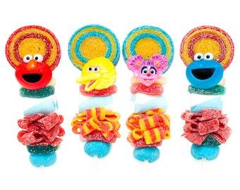 Sesame Street Candy Kabobs - 6