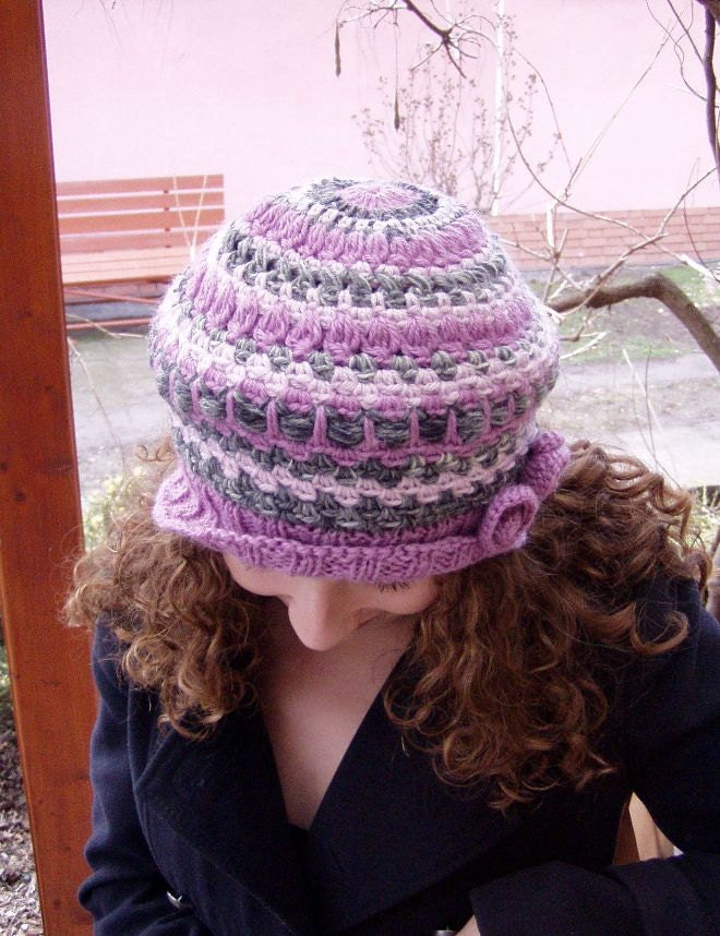 pink slouchy hat, pink beret hat
