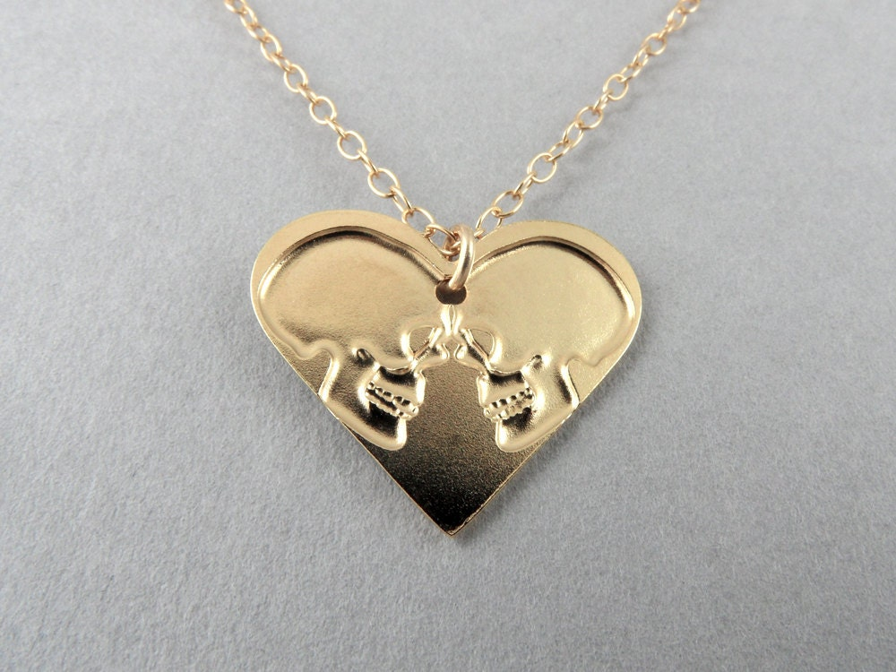 heart necklace for couples - photo #17