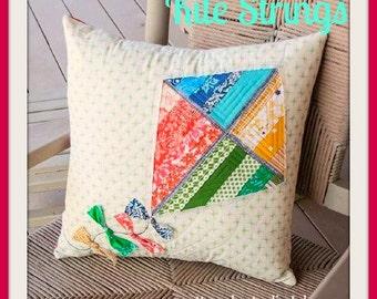 Quilt Pattern   Kite Strings Pillow Cover