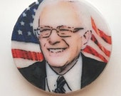 BERNIE SANDERS Election 2016 Ceramic Pin Politics Stocking Stuffers Democratic DEM
