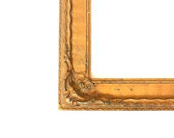 Ornate Victorian Gilt Wood Frame