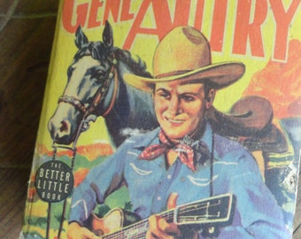 GENE AUTRY 1939 Better Little Book Law of the Range