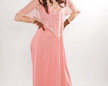 Long Prom Dress Homecoming Dress Boho Wedding Dress Pink Wedding Dress Hippie Wedding Dress Pink Prom Dress Pink Boho Dress Boho Prom Dress