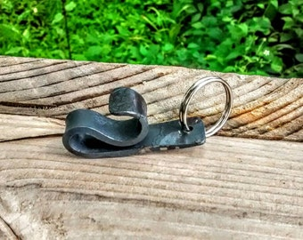 Unbreakable Bottle Opener Keychain // Groomsmen Gifts // Manly Gifts // Craft Beer // Iron Anniversary // Groomsman Gift // Father's Day