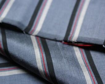 Vintage 100% Silk Fabric